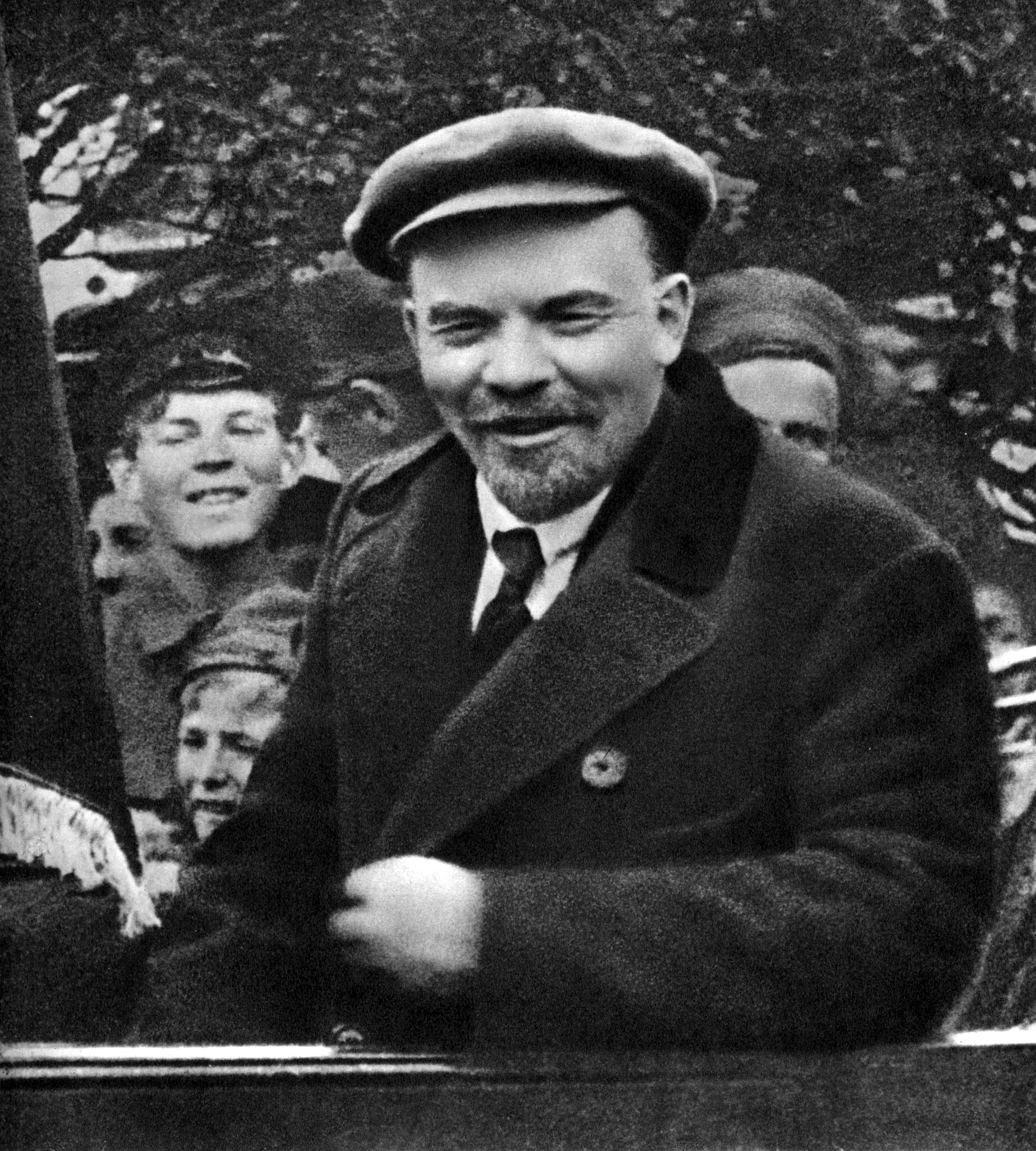 В.И.Ленин. Москва, 1 мая 1919 года