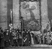 В.И.Ленин, Я.М.Свердлов, В.А.Аванесов, Н.И.Подвойский, Г.И.Окулова и М.Ф.Владимирский