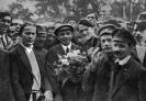 В.И.Ленин в момент прибытия на II конгресс Коминтерна