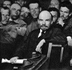 В.И.Ленин среди делегатов X Всероссийской конференции РКП(б)