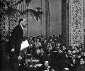 В.И.Ленин произносит речь на заседании III конгресса Коминтерна