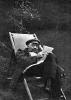 В.И.Ленин на отдыхе в Горках