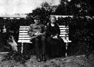 Ленин с сестрой Марией Ильиничной в Горках