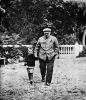 В.И.Ленин с племянником Виктором в Горках