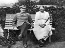 В.И.Ленин и Н.К.Крупская в Горках